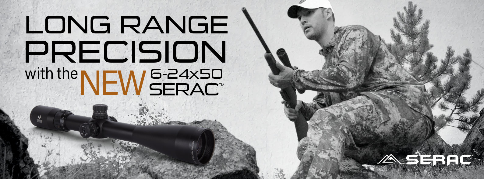 Long Range Precision with the NEW 6-24X50 Serac TM