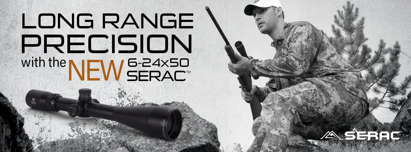 Long Range Precision with the NEW 6-24X50 Serac TM